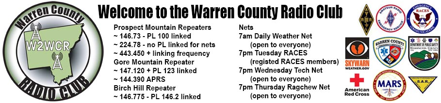 W2WCR Warren County Radio Club